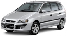 Цена Mitsubishi Space Star 2002 года