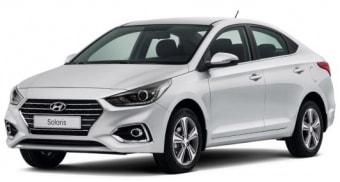 Цена Hyundai Solaris 2018 года в Барнауле