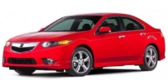 Цена Acura TSX