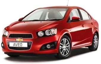 Цена Chevrolet Aveo 2013 года в Краснодаре