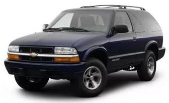 Цена Chevrolet Blazer 1999 года в Кемерово