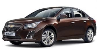 Цена Chevrolet Cruze 2014 года в Москве