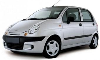 Цена Daewoo Matiz 2000 года в Москве