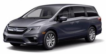 Цена Honda Odyssey 2017 года