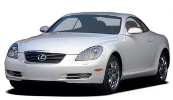 Цена Lexus SC 1998 года