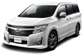 Цена Nissan Elgrand