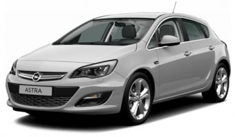 Цена Opel Astra