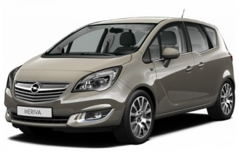Цена Opel Meriva 2009 года в Иркутске
