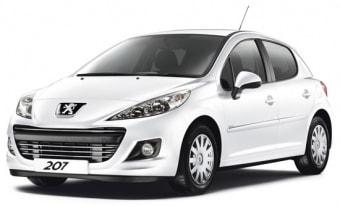 Цена Peugeot 207 2009 года в Москве