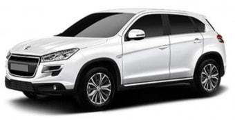 Цена Peugeot 4008 2014 года в Новосибирске