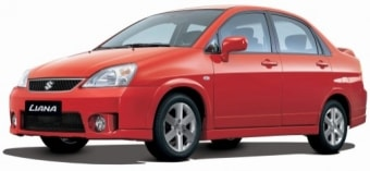 Цена Suzuki Liana 2007 года
