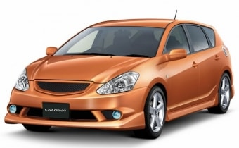 Цена Toyota Caldina 2001 года в Казани
