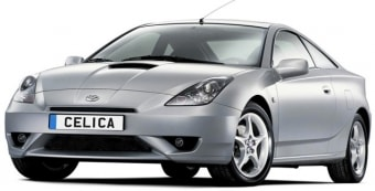 Цена Toyota Celica 2000 года