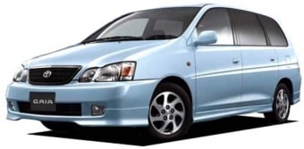 Цена Toyota Gaia 2001 года в Нижнем Новгороде