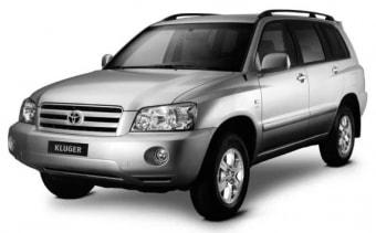 Цена Toyota Kluger