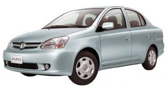 Цена Toyota Platz 2002 года
