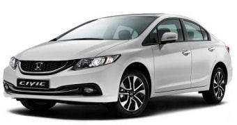 Цена Honda Civic 2014 года в Самаре
