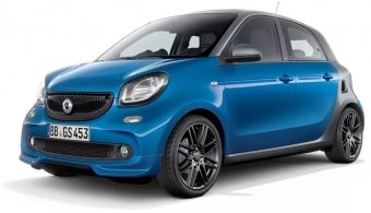 Цена Smart Forfour