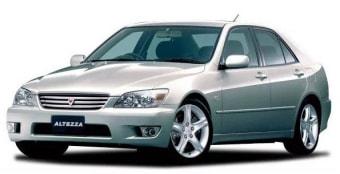 Цена Toyota Altezza 2003 года в Москве
