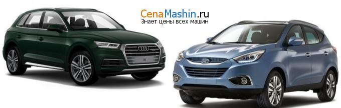 Сравнение Audi Q5 и Хендай Ай-Икс35