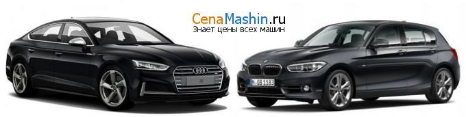 Сравнение Audi S5 и БМВ 1