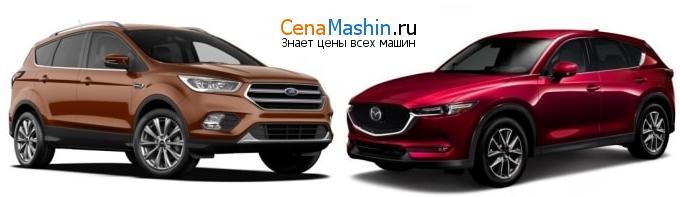 Сравнение Форд Куга и Мазда СХ-5