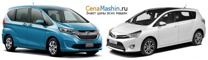 Сравнение Хонда Фрид и Тойота Версо