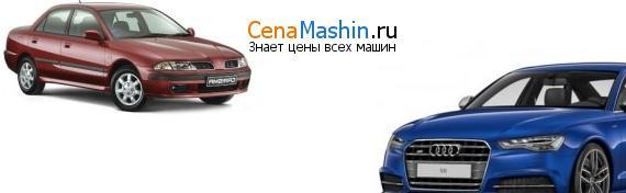 Сравнение Мицубиси Каризма и Audi S6