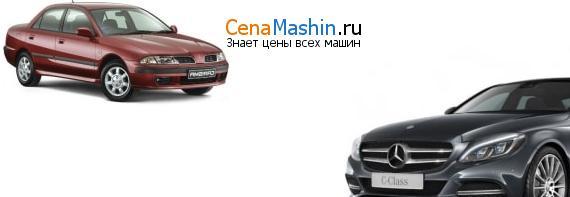 Сравнение Мицубиси Каризма и Mercedes-Benz C-класс