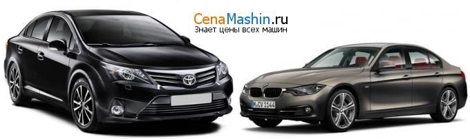 Сравнение Тойота Авенсис и БМВ 3