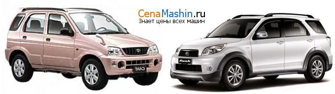 Сравнение Тойота Ками и Тойота Раш