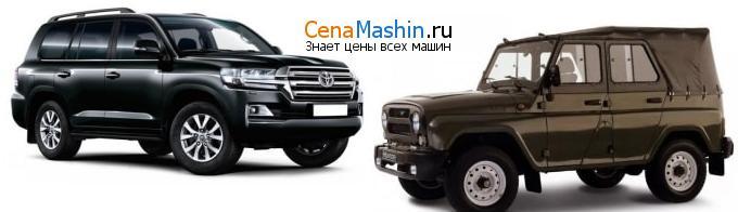 Сравнение Тойота Ленд Крузер и УАЗ 469