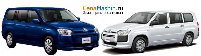 Сравнение Тойота Саксид и Тойота Пробокс