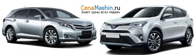 Сравнение Тойота Венза и Тойота Рав4
