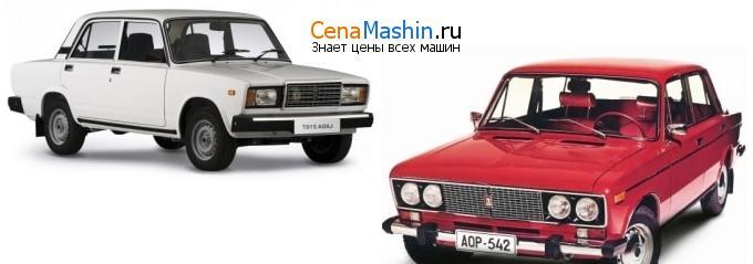 Сравнение ВАЗ (Лада) 2107 и ВАЗ (Лада) 2106